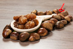 Marrons glaces Royalty Free Stock Images