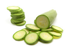 Marrow. Vegetable marrow. Isolated object. Element of design Stock Photos