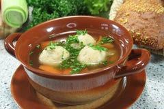 Marrow soup Royalty Free Stock Photo