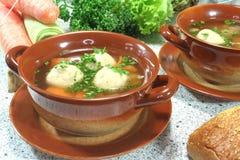 Marrow soup Stock Image