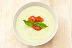 Marrow soup Royalty Free Stock Photography