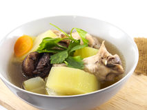 Marrow soup Royalty Free Stock Photography