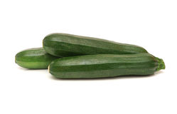 Marrows isoalted on white Stock Images
