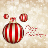 Marry Christmas background. Elegant and Light Marry Christmas background Stock Images
