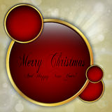 Marry Christmas background Royalty Free Stock Photography