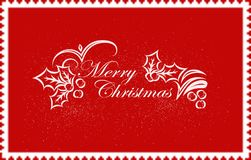 Marry Christmas background design for your greetings card, flyers, invitation, posters, brochure, banners, calendar Royalty Free Stock Images