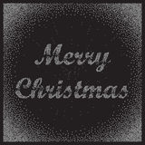 Marry Christmas greeting card Stock Photography