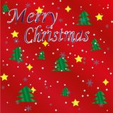Marry Christmas and happy new year Stock Image