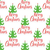 Marry Christmas pattern Stock Images