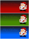 Marry Christmas Santa Claus Stock Photos
