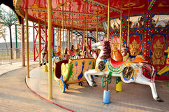 Marry go round in I-City theme park,Shah Alam Malaysia Stock Photography