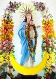 MARRY AND JESUS CHILD Stock Photos