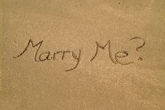 Marry me? Stock Photo