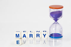 Marry Me! Royalty Free Stock Photos
