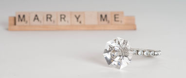 Marry Me Concept Royalty Free Stock Image