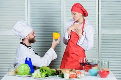 Marry me. Dieting and vitamin. culinary cuisine. Family cooking in kitchen. man and woman chef in restaurant. happy. Marry me. Dieting and vitamin. culinary stock photos