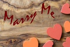 Marry me Stock Photo