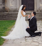 Marry me today and everyday Royalty Free Stock Images