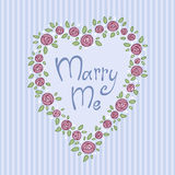 Marry me Stock Photos