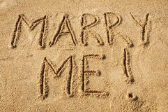 Marry Me! Stock Image