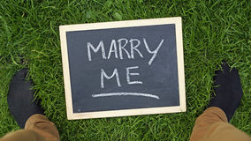 Marry me Stock Photography