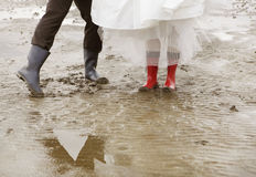 Marry in Wadden Royalty Free Stock Photo