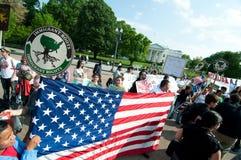 Mars à la Maison Blanche pour des droits et la réforme immigrés Photo stock
