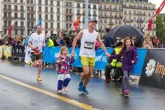 Mars, 2015 3ème marathon d'harmonie à Genève switzerland Images libres de droits