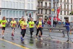 Mars, 2015 3ème marathon d'harmonie à Genève switzerland Photographie stock libre de droits