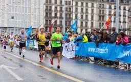 Mars, 2015 3ème marathon d'harmonie à Genève switzerland Images stock