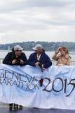 Mars, 2015 3ème marathon d'harmonie à Genève switzerland Photo libre de droits