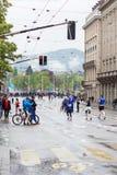 Mars, 2015 3ème marathon d'harmonie à Genève switzerland Photographie stock