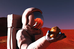 On mars stock illustration