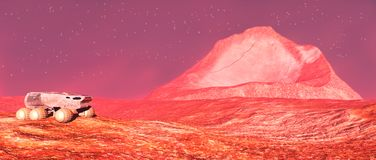 Mars Stock Images