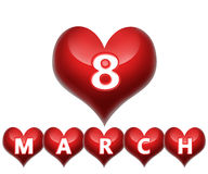 8 mars image stock
