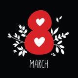 8 mars Arkivbilder