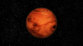 Mars. Aka Red Planet, forth planet from the Sun Royalty Free Stock Images