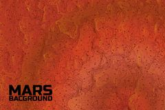 Mars background. Royalty Free Stock Photo