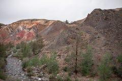 Mars-Berge Lizenzfreies Stockfoto