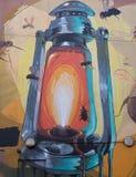 9 mars 2017, Brighton, R-U Art de rue par l'artiste Br de graffitti Photos libres de droits