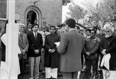 23 mars célébration de jour de république de Pakistans au Danemark Image libre de droits