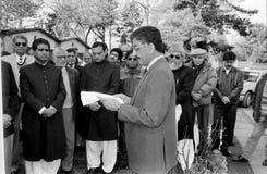 23 mars célébration de jour de république de Pakistans au Danemark Photographie stock libre de droits