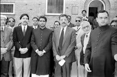 23 mars célébration de jour de république de Pakistans au Danemark Photo libre de droits