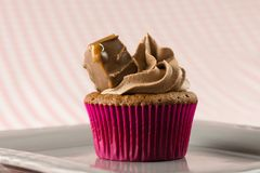 Mars cupcakes, delicious and yummy Mars and Milk chocolate cupcake. S. These Mars cupcakes are so good stock photos