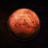 Mars - Czerwona planeta royalty ilustracja