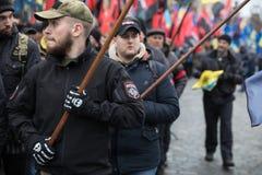 Mars de la dignité nationale dans Kyiv Photo stock