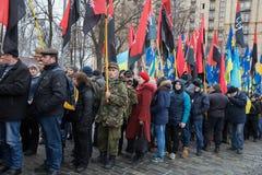 Mars de la dignité nationale dans Kyiv Photographie stock