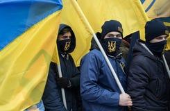 Mars de la dignité nationale dans Kyiv Photographie stock libre de droits