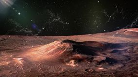 Mars - der rote Planet stock video footage