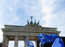 Mars för Europa Berlin Royaltyfri Fotografi